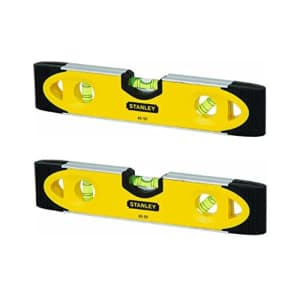 Stanley 43-511 Magnetic Shock Resistant Torpedo Level NIP (2 Pack) for $25