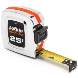 Lufkin Legacy Series 25 ft. L X 1 in. W Tape Measure for $3