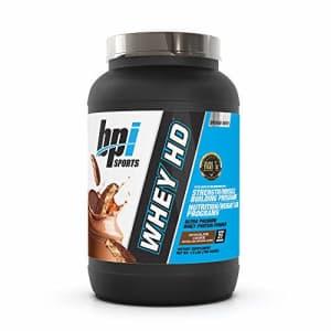 BPI Sports Whey HD Ultra Premium Protein Powder, Chocolate Cookie, 1.8 Pound for $39