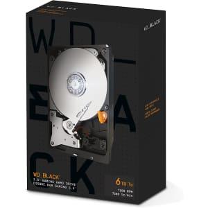 "WD Black 6TB SATA 6 3.5"" Internal HDD for $273"