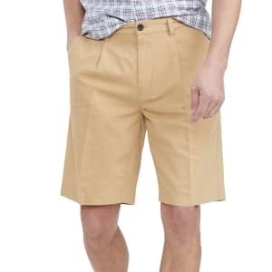 "Tommy Hilfiger Men's Worth Avenue 10"" Shorts for $24"