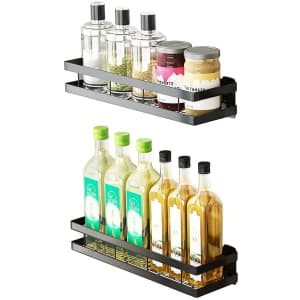 Gado Wall-Mounted Spice Rack 2-Pack for $19