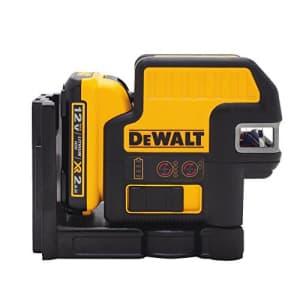 DEWALT 12V MAX Laser Level, 2 Spot + Cross Line Laser, Red, 165-Foot Range (DW0822LR) for $342
