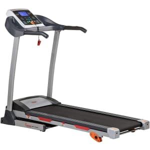 Sunny Health & Fitness Folding Treadmill for $386