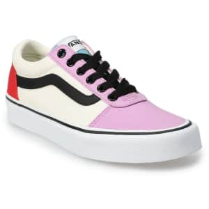 Vans Women's Ward Skate Shoes for $31