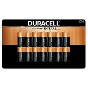 Duracell Alkaline C Batteries | Long Lasting Power CopperTop All Purpose C Battery For Household for $29