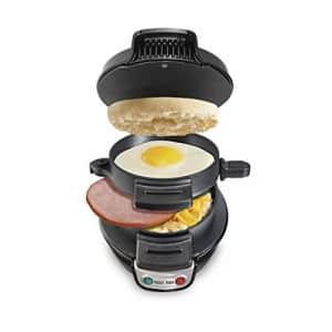 Hamilton Beach Breakfast Sandwich Maker, Black (25477) for $50