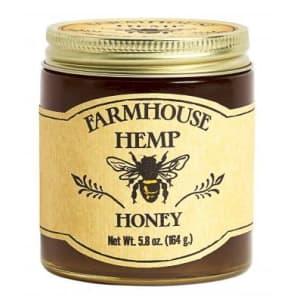 Farmhouse Hemp CBD Wildflower Honey 500mg Jar for $34