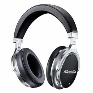 Bluetooth Headphones Active Noise Cancelling, Bluedio F2 ANC Over Ear Wireless Headphones 180 for $53