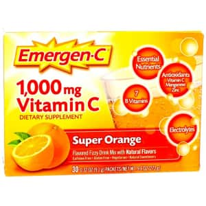 Emergen-C 1000mg Vitamin C Powder for $8 via Sub & Save