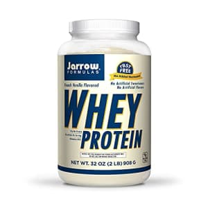 Jarrow Formulas Whey Protein, French Vanilla - 908g Powder - Supports Muscle Development - Rich in for $35