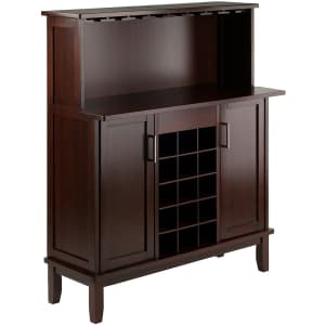 Winsome Beynac Bar Wine Cabinet for $205