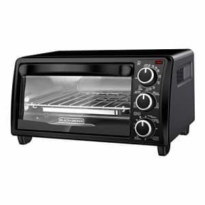 Black + Decker Black+Decker TO1313B Toaster Oven, 4-Slice for $70