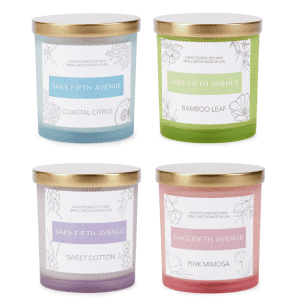 Saks Fifth Avenue Hand-Poured Candles at Saks Off 5th: for $5