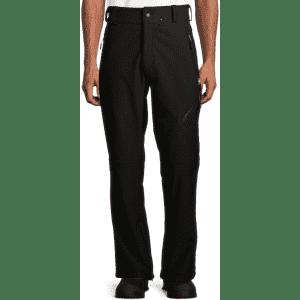 SwissTech Men's Softshell Ski/Snowboard Pants for $10