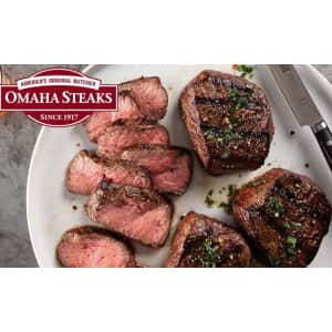 Omaha Steaks at Groupon: 60% off