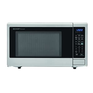 SHARP Carousel 1.4 Cu. Ft. 1000W Countertop Microwave Oven with Orville Redenbachers Popcorn Preset for $123