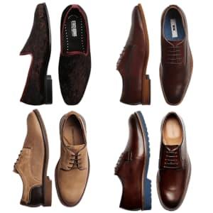 Men's Wearhouse Shoe Clearance: from $30
