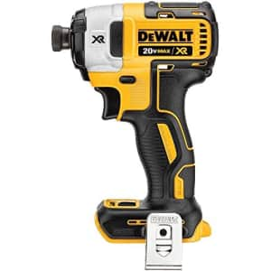 DEWALT DCF887BR 20V MAX XR 1/4in 3-Speed Cordless Impact Driver TOOL ONLY (Renewed) for $92