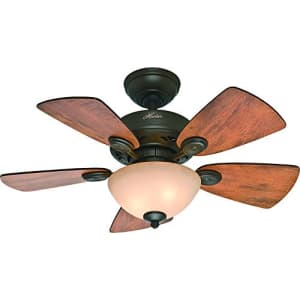 Hunter Fan Company 52090 Hunter Watson Indoor ceiling Fan with LED Light and Pull Chain Control, for $130