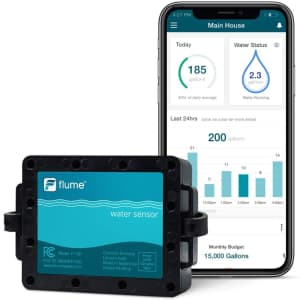 Flume Smart Water Monitor for $129