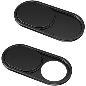 CloudValley Webcam Cover Slide 2-Pack for $7