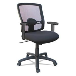 Alera Etros Series Mesh Mid-Back Petite Swivel/Tilt Chair, Black for $138