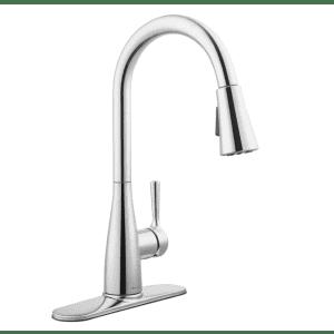 Glacier Bay Sadira Single-Handle Pull-Down Sprayer Kitchen Faucet for $42