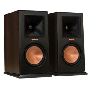 Klipsch Reference Premiere RP-150M Bookshelf Speaker Pair for $229