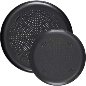 T-fal Airbake Nonstick Pizza Pan Set for $38