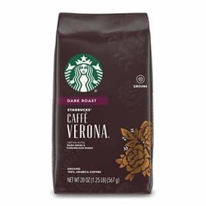 Starbucks Dark Roast Ground Coffee Caff Verona 100% Arabica 1 bag (20 oz.) for $29