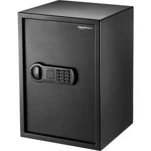 AmazonBasics 1.8-Cu. Ft. Home Keypad Safe for $125