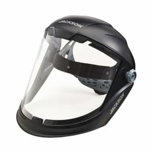 Jackson Safety Lightweight MAXVIEW Premium Face Shield for $26