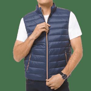 Michael Kors Men's Quilted Nylon Vest for $49