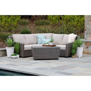 Canopy Home and Garden Linden 3-Pc. Sectional w/ Sunbrella Fabric for $1,799 for members