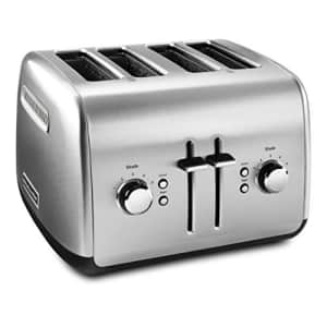 KitchenAid KMT4115SX Stainless Steel Toaster, Brushed Stainless Steel for $80