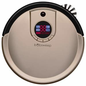 bObsweep Standard Robotic Vacuum, Circle D 13.8, Champagne for $239