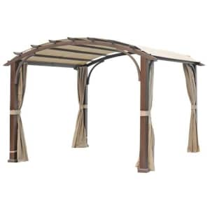allen + roth 11-Foot Square Standard Canopy for $598