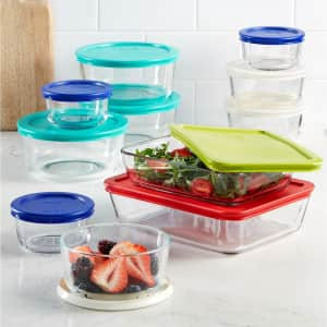 Pyrex 22-Piece Food Storage Container Set for $29