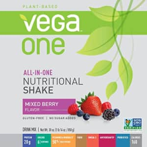 Vega One All-In-One Nutritional Shake Berry (20 Servings) - Plant Based Vegan Protein Powder, Non for $68