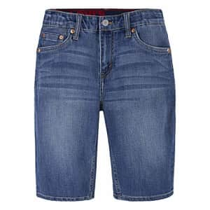 Levi's Boys' 511 Slim Fit Performance Shorts, Blown Away, 7X for $14