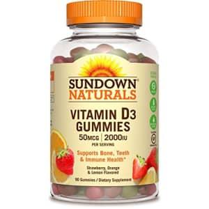 Sundown Vitamin D3 2000 IU Gummies, 90 Count for $14