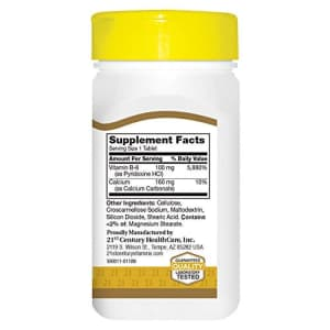 21st Century Vitamin B-1 Tablets, 100 Mg, 110 Count for $6