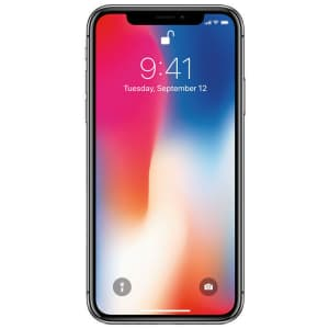 Unlocked Apple iPhone X 64GB GSM Phone for $285