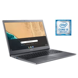 """Acer 715 Kaby Lake i3 Dual 15.6"""" Touch Chromebook for $279"""