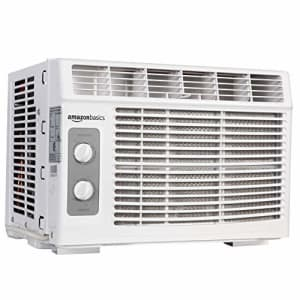 Amazon Basics 5,000-BTU Window Air Conditioner for $131