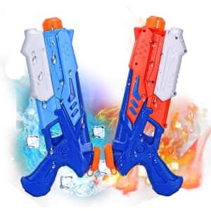 Joyjoz Squirt Guns 2-Pack for $6