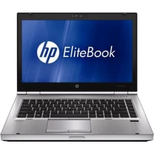 """HP EliteBook 8460p SN595UP 14"""" LED Notebook - Core i7 i7-2620M 2.7GHz - Platinum (SN595UP#ABA) for $320"""