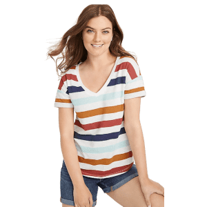 24/7 Tees & Tanks, Graphic Tees & Tanks, & M Jeans by Maurices: Buy 1, get 50% off 2nd