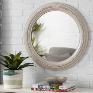"""StyleWell 24"""" Round Antiqued Farmhouse Mirror for $53"""